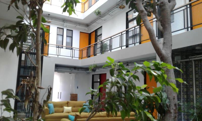 Miniloft en el corazón de México. Hotel boutique