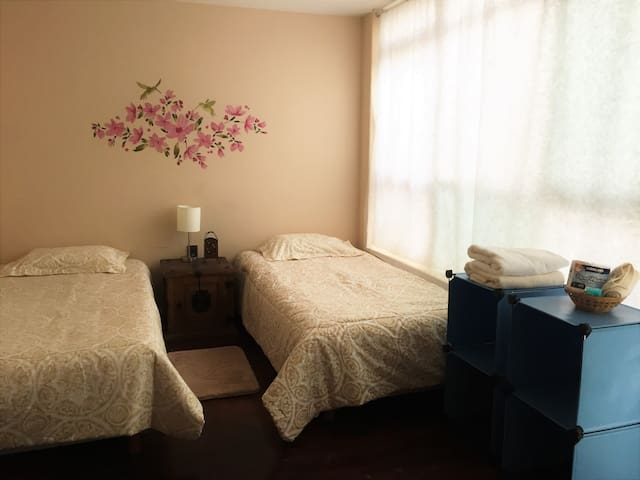 Best Location priv room-2 beds near to CONDESA - Ciudad de México - House