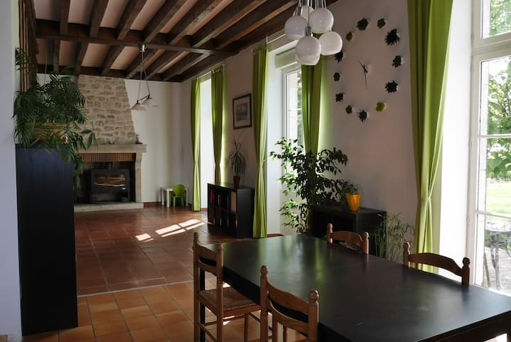 farmhouse in close proximity of the  Loire castles - Ouzouer-le-Marché - Casa