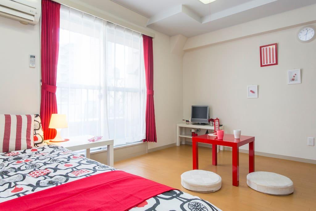 Tokyo buona posizione wi fi gratu appartamenti in for Appartamenti giappone