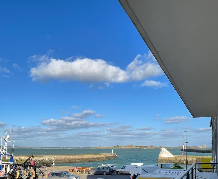 Panorama et la vie du Port