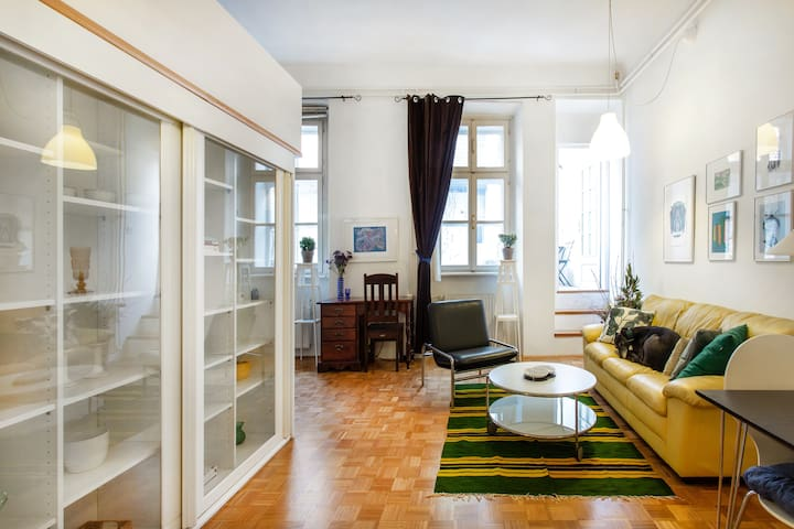 Charming apartment in the middle of the city