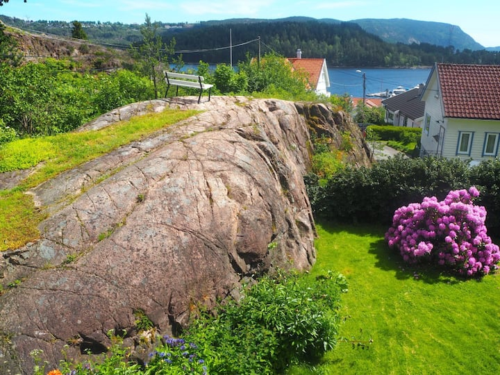 Picturefriendly home w/ oceanview, Drammen Svelvik