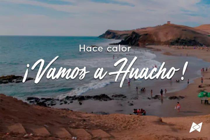 House near the beach in Huacho, Lima