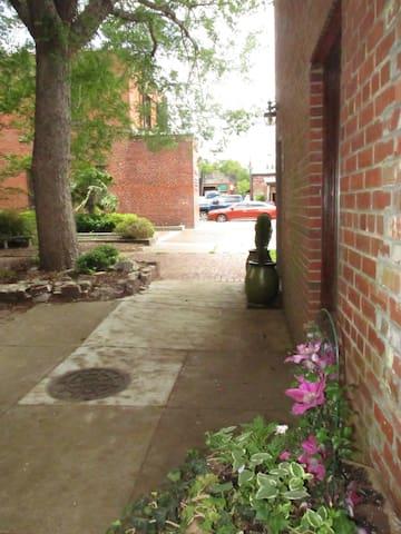 Just steps away from parking & restaurants