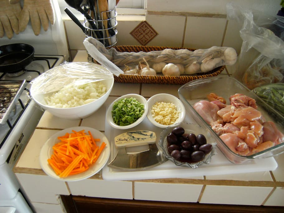 Typical food preparation