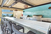 BBQ Grill and Lounge Area