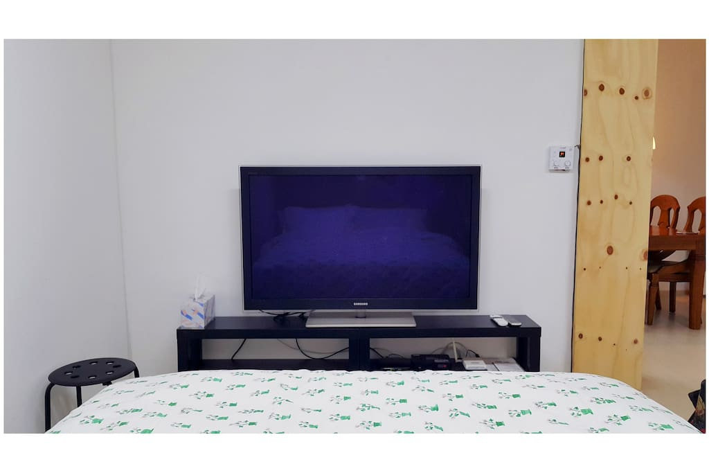 Room #1 - 50inch PDP TV with a cable TV service