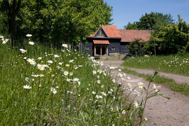 Wooden eco-cottage set in 5 acres - Bassingbourn - Ház