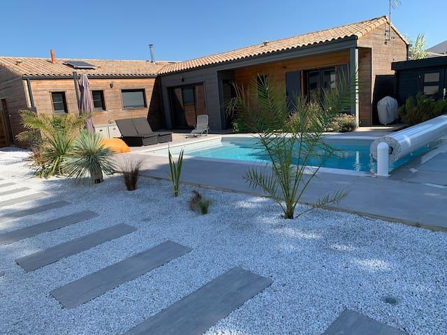 Villa piscine proche Fouras et 10min des plages