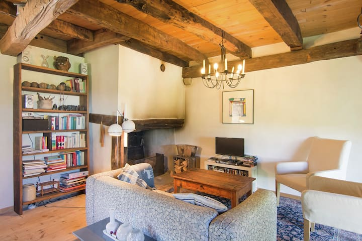 Tasteful Apartment in Juvinas with Garden Furniture