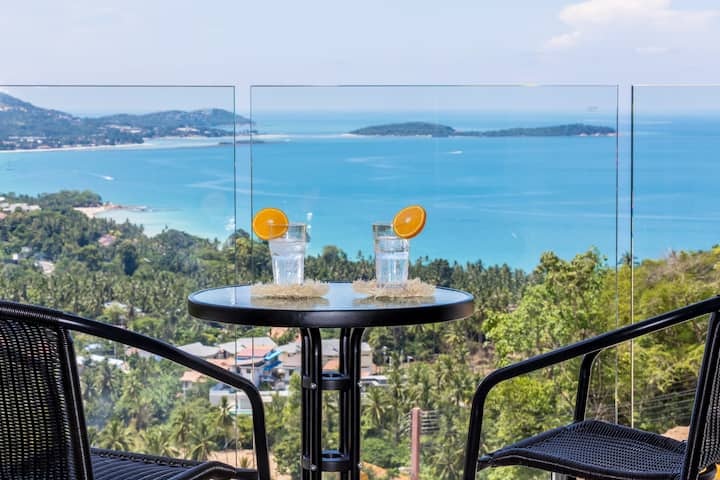 Villa Bebe With Amazing Seaview in Chaweng Noi