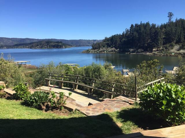 Cómoda casa Lago Vichuquén