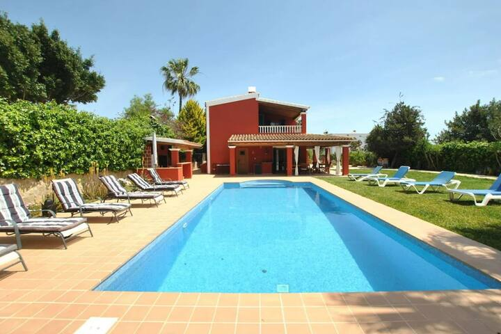 Spacious Holiday Home in Sant Jordi with Private Pool