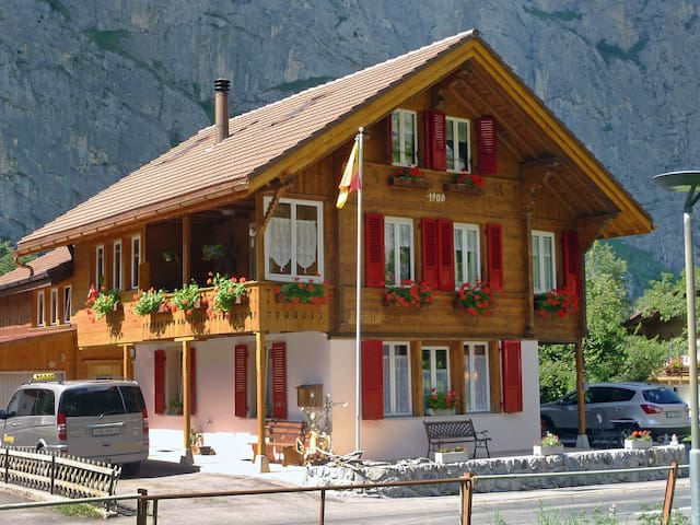 1-room apartment 40 m² Chalet in Lauterbrunnen