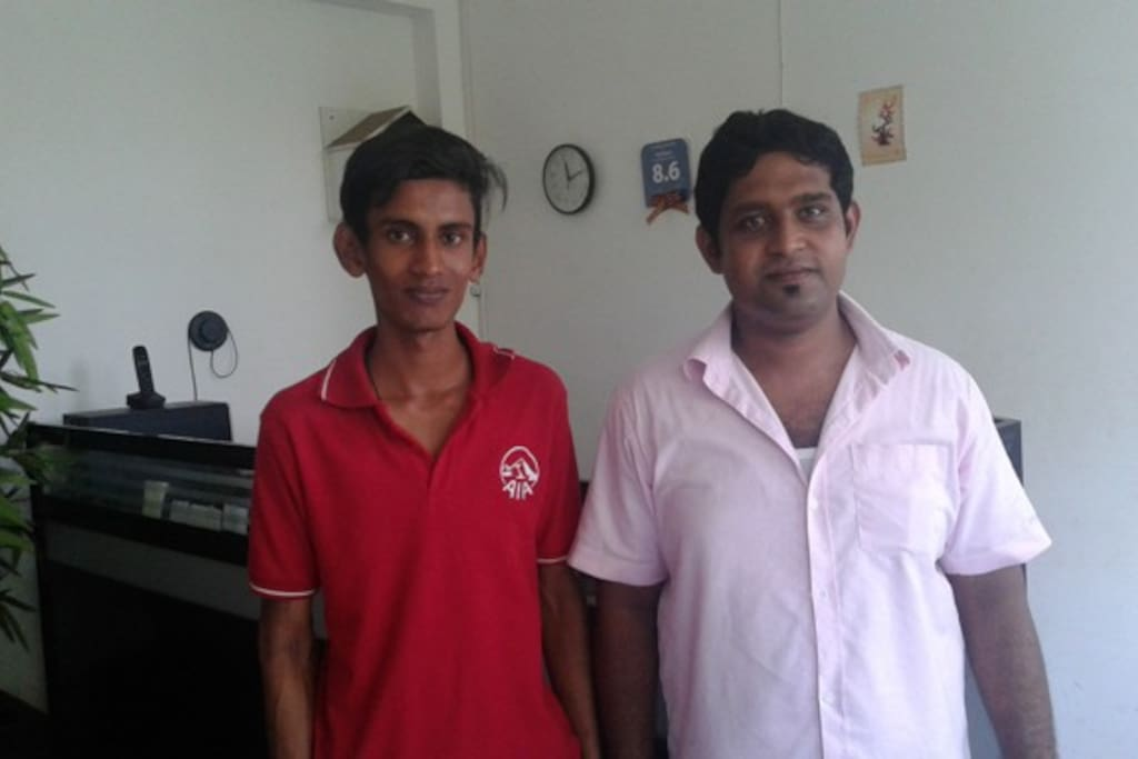 meet Pasindu and Roshan