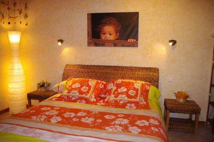 Le Talapet 3 chambres d'hôtes **** ALBIEZ MONTROND - Albiez-Montrond - Bed & Breakfast