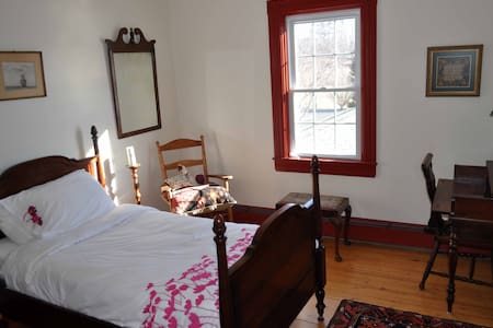 Guest room on the Lahave river.