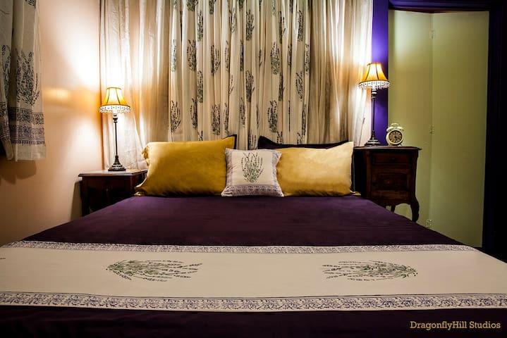 The Lavender Room at DragonflyHill Urban Farm