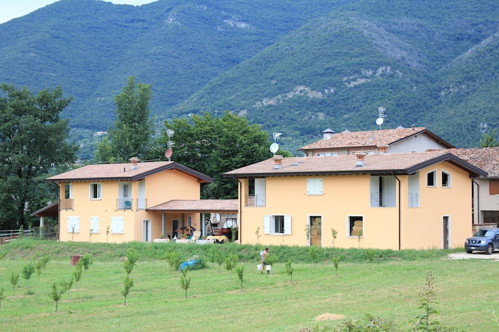 In the countryside 6 km from Garda lake