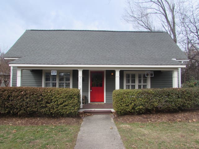 Bungalow circa 1910 completely remodeled with new addition.