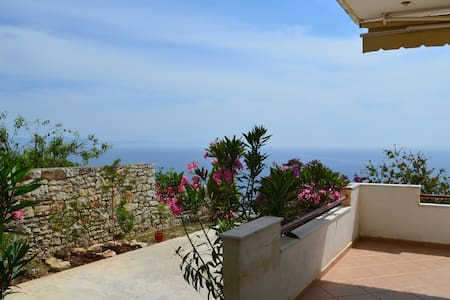 Sea View Apartment with Garden in Qeparo - 074 - Qeparo