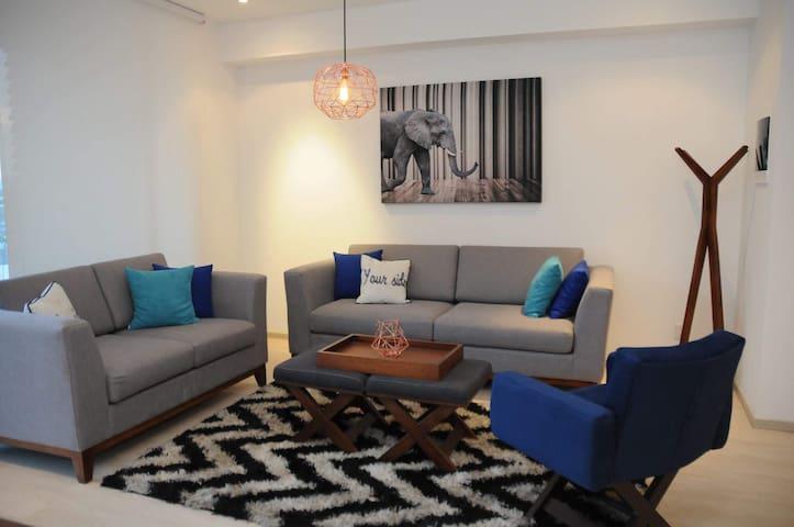 Moderno y lindo departamento