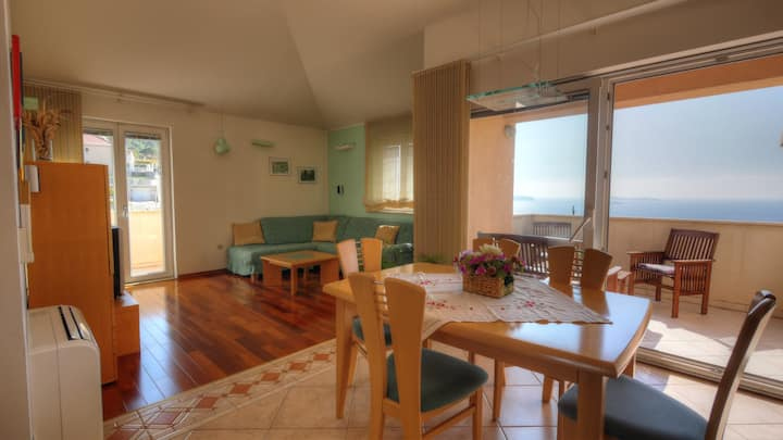 Apartment Villa Molina - One-Bedroom Apartment with Terrace and Sea View