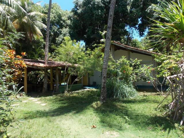 Casa com 3 quartos  Praia de Moreré - Ilha de Boipeba - Ev