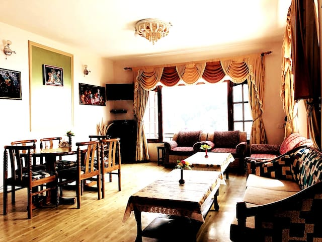 ★Couples Group★Star View 03-BHK in Cottage SHIMLA★