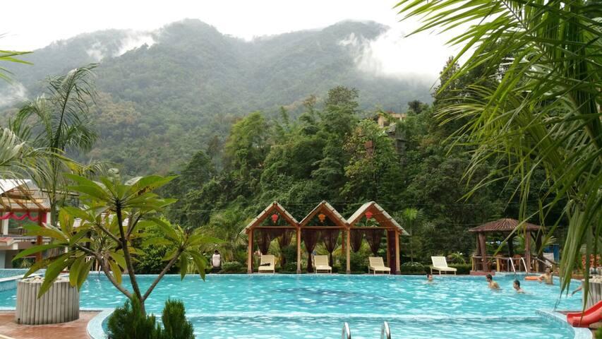 Sundar Resort: for a soul searcher (Deluxe room) - Rangpo - Annat