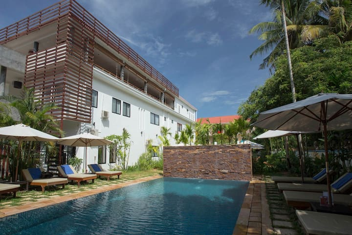 Mudra Angkor Apartment for Rent Weekly & Monthly - Krong Siem Reap - Leilighet