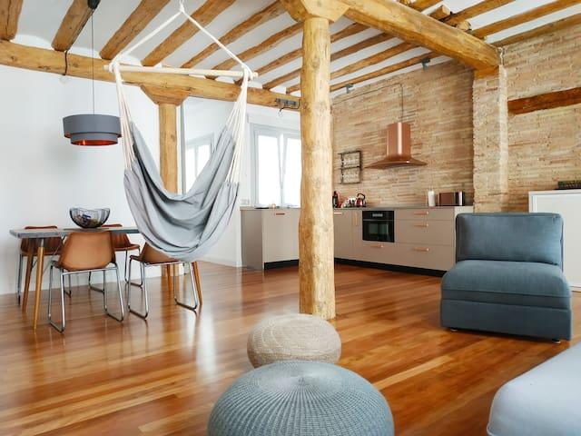 Sagasta Loft mit Lift, Klimaanlage & WIFI