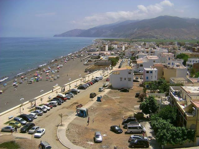 Nice apartment at 50 m from the beach - Stehat - Condomínio