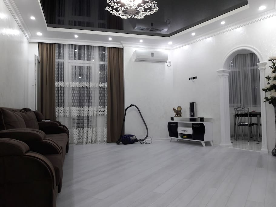 sitting-room with TV SET and Sofa