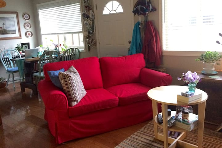 Bright and Charming Patio Condo Suite