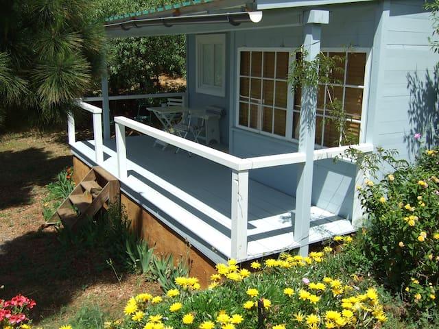 Acogedora casa de madera - Puntagorda - Huis