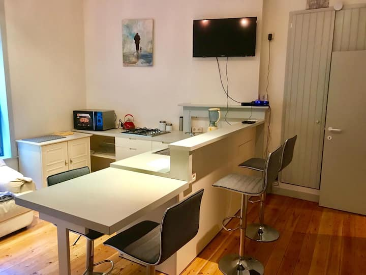 New modern studio , Bruges city center