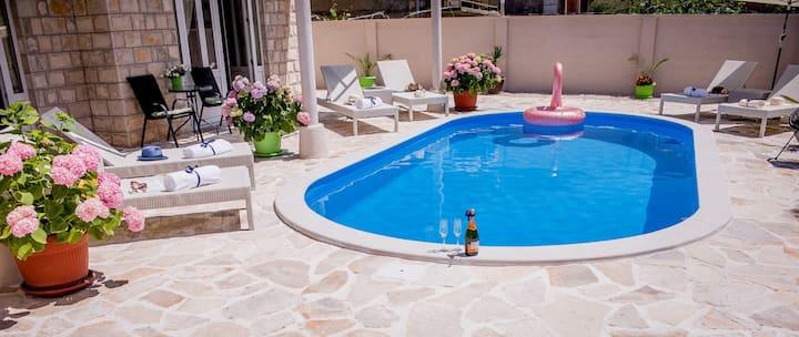Villa Branka Apartment D1 with Pool near Dubrovnik