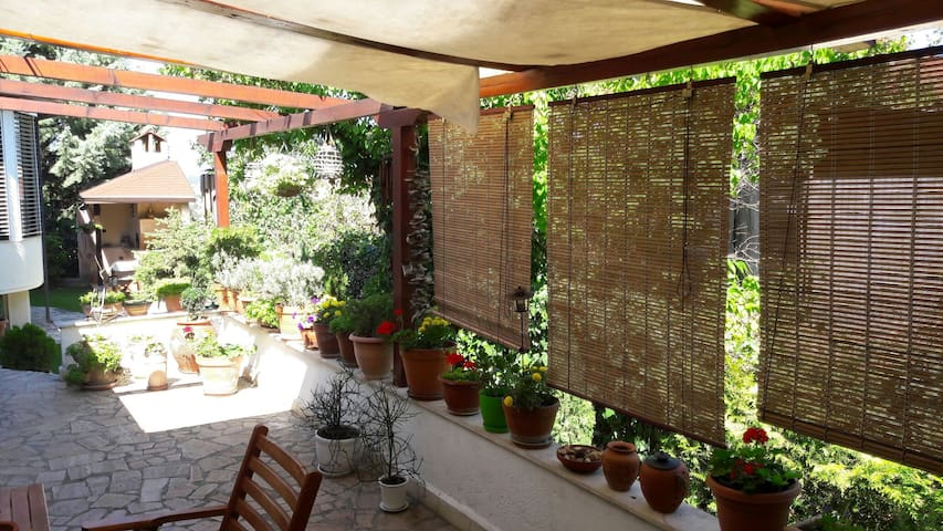 Cozy place with a garden  in Skopje - Skopje - Apartamento