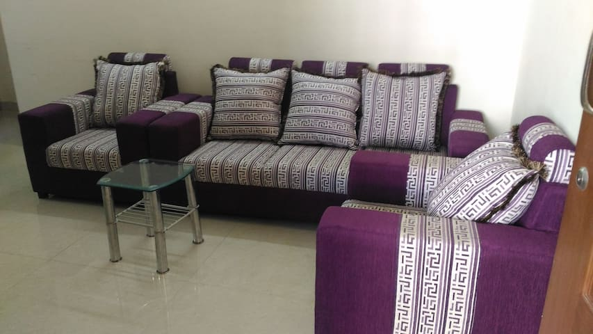 1 BHK AC Penthouse in Central location
