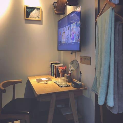 步行一分钟平江路  拙政园-苏州博物馆-平江路上·精装小屋 有艺小宿【志青年】