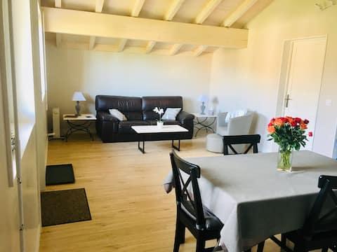 Luksusowy, nowoczesny apartament w pobliżu Genewy