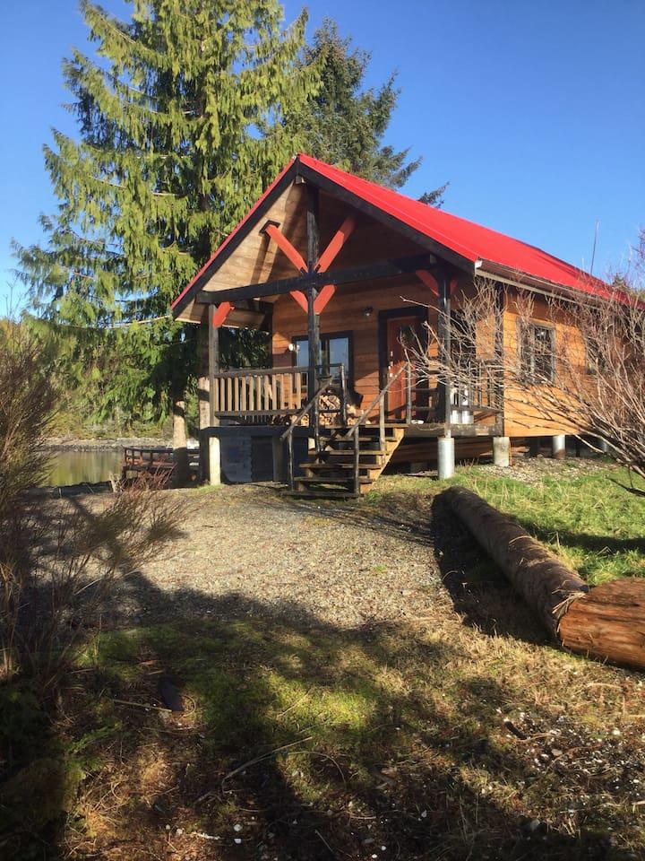 Cabin 1 looking from studio