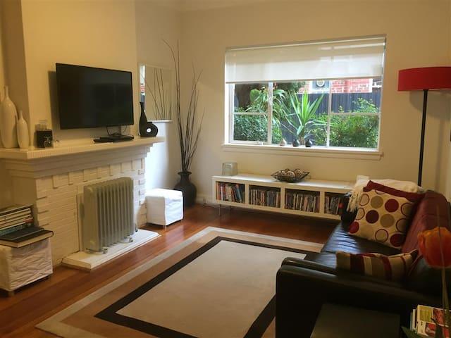 Lounge -TV, internet, books, games.