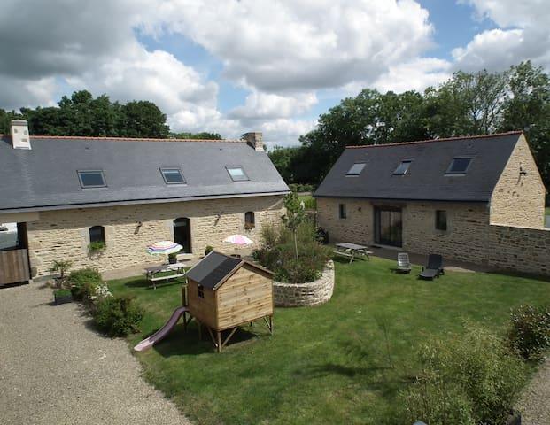 Gites de kerfeulest 4 epis avec piscine couverte maisons for Gite bretagne piscine couverte