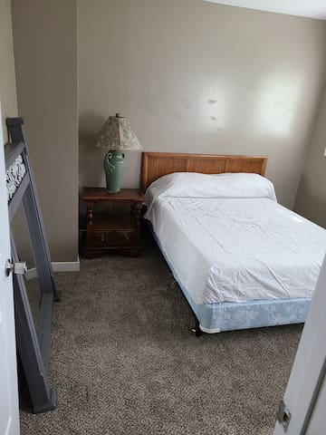 Clean remodeled room