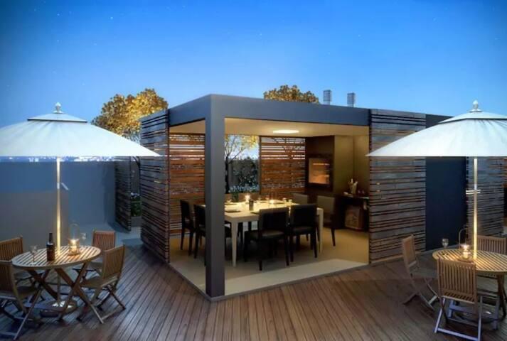 sa1601- Urban View, 2 Quartos e Ar Condicionado