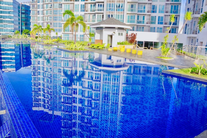 C4-15J 1BR in Resort area w/ amazing swimming pool