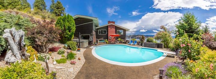 Exclusive lakeside pool oasis...adventure awaits!